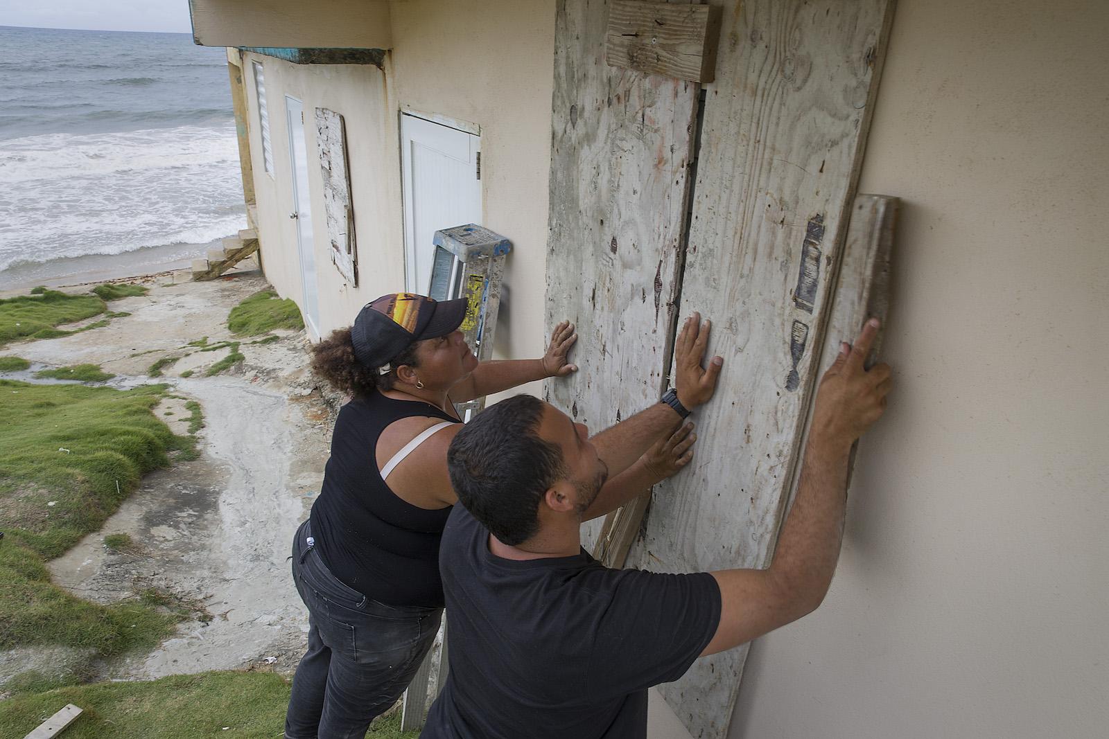 Hurricane Dorian preparation Puerto Rico